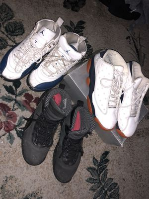 Jordan 10, 12, and 13 | All 3 for $80 | Poor Condition for Sale in Philadelphia, PA