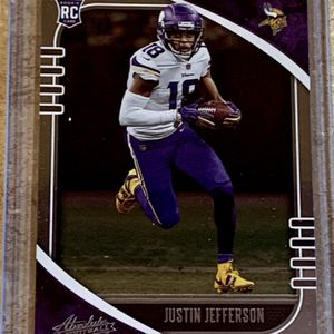 NFL 2020 Panini Absolute Football Minnesota Vikings Justin Jefferson Rookie Card for Sale in North Ridgeville, OH