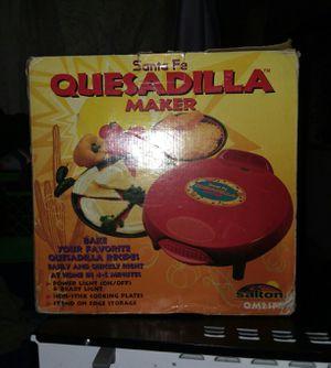 Santa Fe quesadilla maker for Sale in Saint Albans, WV
