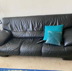 Genuine Italian Leather Sofa Set by Natuzzi FOR SALE! for Sale in Arlington, VA