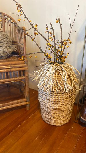 Woven Basket for Sale in Portland, OR