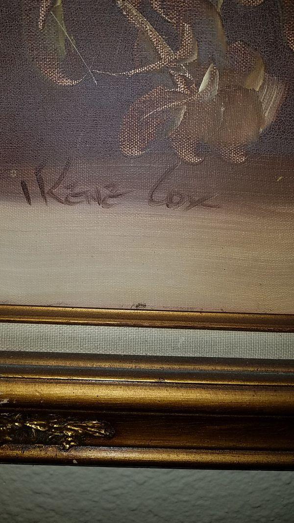 Irene Cox original painting