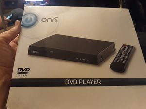 DVD player with remote onn brand for Sale in Indianapolis, IN