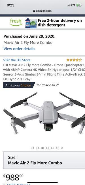 Mavic air2 Drone for Sale in Dallas, TX