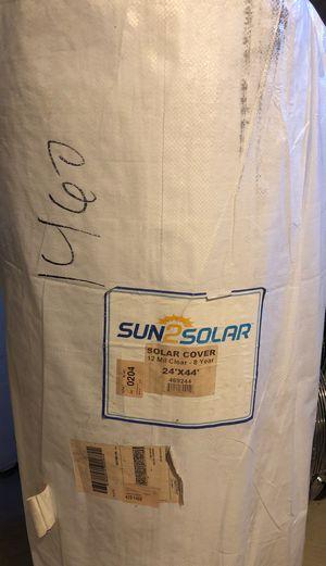 Sun2Solar Pool Solar Cover 22'x44' (New) for Sale in Tewksbury, MA