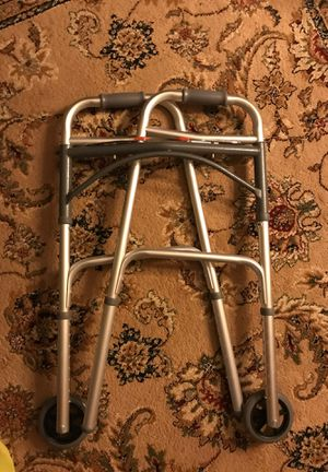 Medical folding walker with wheels, Brand New for Sale in Queens, NY