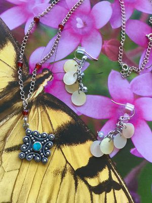 💛💜💛 Love Jewelry / Assorted Silver jewelry and more / necklace $25 / earring silver $20 / fashion erring $15 for Sale in Alexandria, VA