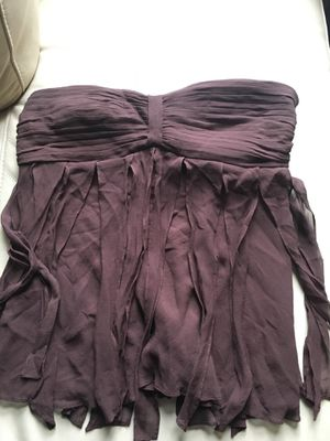 Chocolate brown Fringed tube top for Sale in Medford, MA