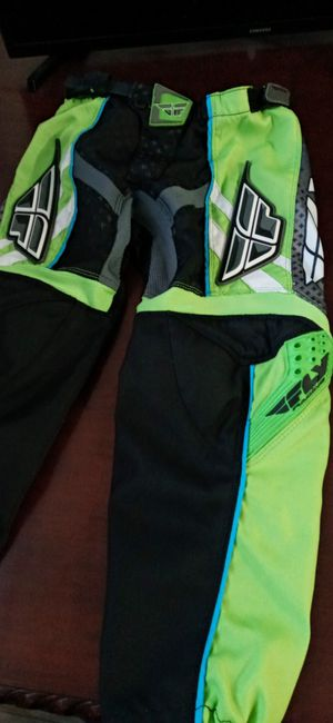 Fly.. Riding.. Pants.. Size.. 24.. Kids size.. Used. for Sale in Santa Ana, CA