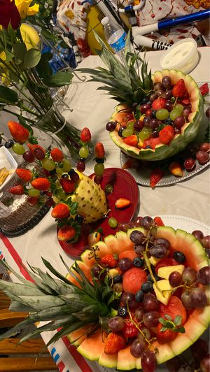 Real fruit decorations for all events for Sale in Denton, TX