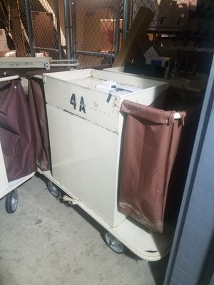 Housekeeping Carts, Heavy Duty $40 for Sale in Oxon Hill, MD