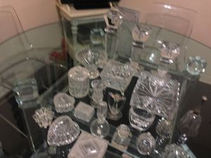 Crystal and glass collectibles for Sale in Dallas, TX