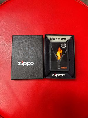 Zipper Flame zippo for Sale in North Las Vegas, NV