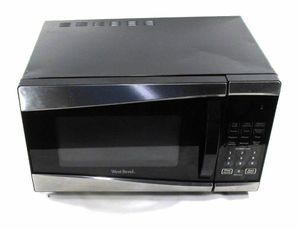 West Blend Black Silver 1350w Microwave for Sale in Knoxville, TN