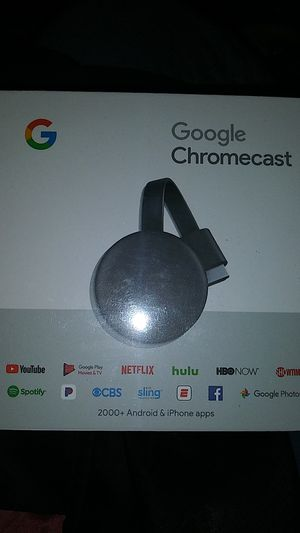 Google Chromecast brand new in sealed box for Sale in Highland, CA
