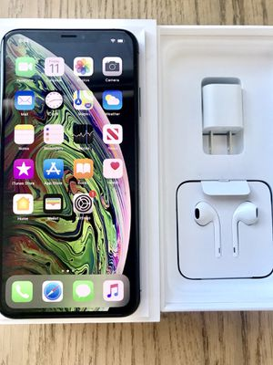 Apple IPhone XS Max 256gb Unlocked with accessories for Sale in Jersey City, NJ