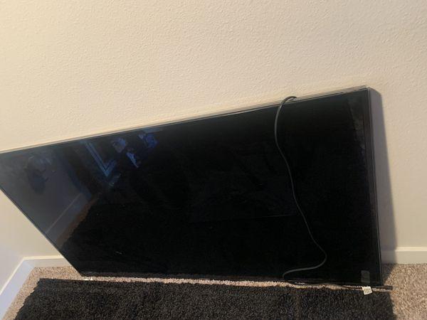 55 inch Samsung tv, NO REMOTE.