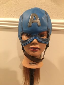 Fitted captain America mask cosplay quality Mask for Sale in Mount Hamilton,  CA