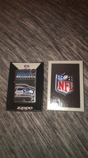 Brand new Seattle Seahawks zippo lighter for Sale in Peoria, AZ