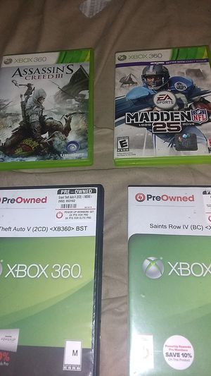 Xbox 360 games excellent condition and low price $$$ for Sale in Milwaukee, WI