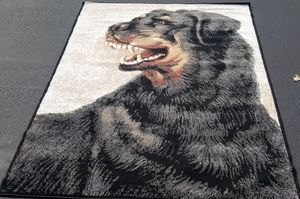 Rottweiler dog picture 5x8 area rug NEW for Sale in Three Rivers, MI