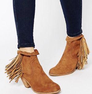 Sam Edelman fringe Louie cowboy bootie boots for Sale in Stockton, CA
