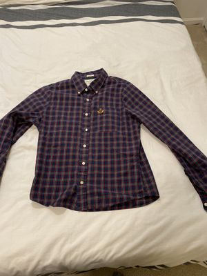 Abercrombie & Fitch XL plaid Muscle Fit button down shirt for Sale in Kensington, MD