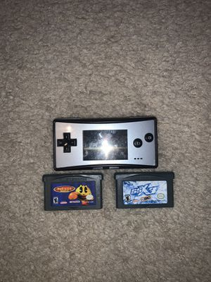 Game boy micro for Sale in Seymour, CT