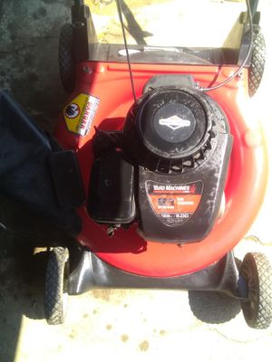 Briggs and Stratton lawn mower, blower,heater for Sale in Bakersfield, CA
