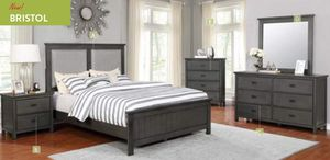 Gray 4pc queen bedroom set FREE LOCAL DELIVERY for Sale in Walnut, CA