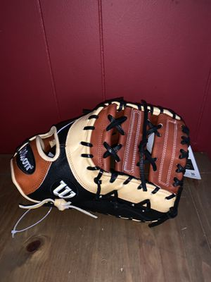 Wilson A2K 1B Glove. (Black, Tan, Brown) 12.75 for Sale in Chicago, IL