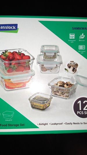 Glass storage containers for Sale in Jennings, MO