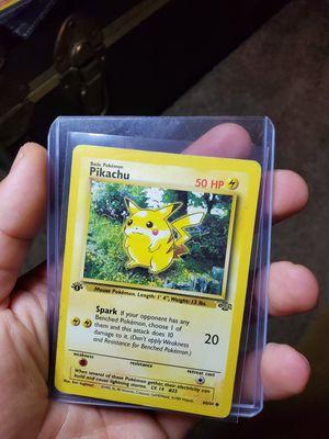 Pokemon card 1st edition jungle pikachu for Sale in Scottsdale, AZ