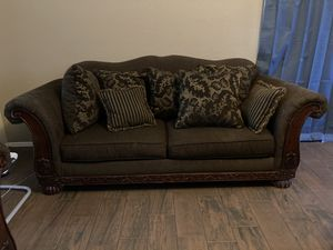 Two great condition brown couches for Sale in Litchfield Park, AZ