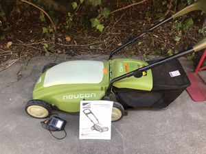 No more gas Lawn Mower Battery Powered for Sale in Upland, CA