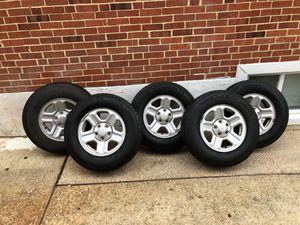Jeep Wrangler wheels Michelin for Sale in Takoma Park, MD