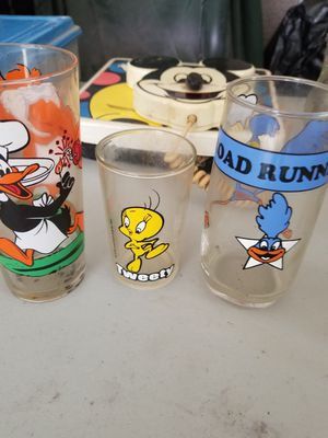 Trio old collectable glasses for Sale in Cape Coral, FL