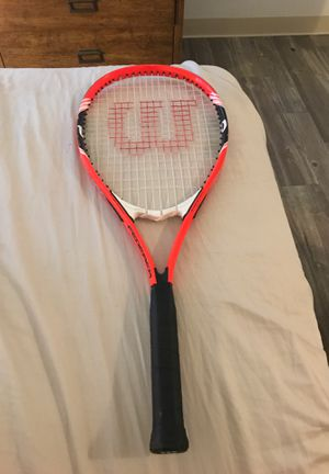Wilson Federer tennis racket for Sale in Glendale, AZ