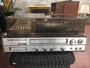 vintage Lp players cassette player for Sale in Glendale, CA