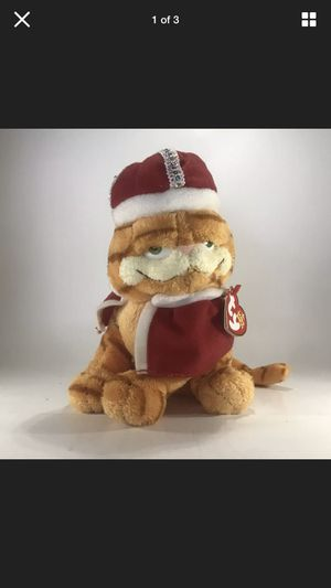 Ty Original Beanie Babies Collection 2006 His Majesty Garfield Plush for Sale in Virginia Beach, VA