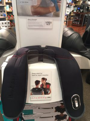 Brookstone shoulder and neck massager for Sale in Durham, NC