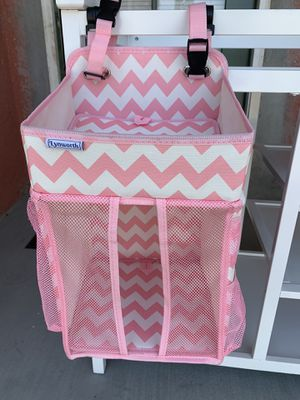 Lynworth Baby Changing Table Hamper Diaper Caddy for Sale in Fullerton, CA