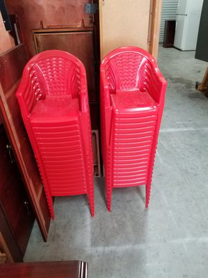 KIDS CHAIRS FOR SALE($2 EACH) for Sale in Houston, TX