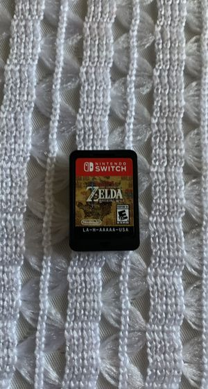 Zelda Breath of The Wild Nintendo Switch for Sale in Las Vegas, NV