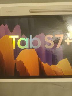Samsung Galaxy Tab S7+ 256gb Mystic Silver for Sale in Folsom,  CA