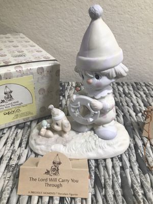 2 Vintage Precious Moments Figurines for Sale in Humble, TX