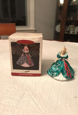 Holiday Barbie ornament for Sale in Fairfax, VA