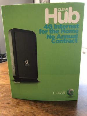Clear Modem New Never Used. $10.00 for Sale in Fort Worth, TX