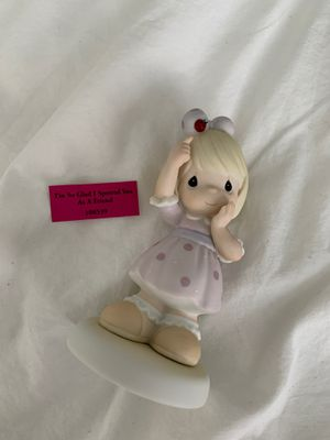 Precious Moments Porcelain Figurine: I'm So Glad I Spotted You As a Friend for Sale in Tampa, FL