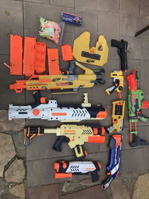 Nerf gun and water gun collection for Sale in Midvale, UT